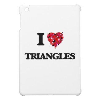 I love Triangles Cover For The iPad Mini