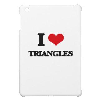 I love Triangles iPad Mini Covers