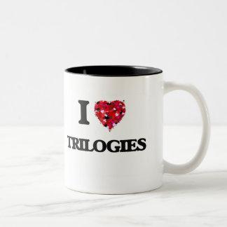 I love Trilogies Two-Tone Mug