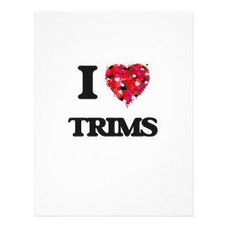 I love Trims 21.5 Cm X 28 Cm Flyer