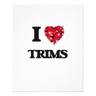 I love Trims 11.5 Cm X 14 Cm Flyer