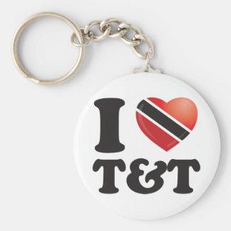 I Love Trinidad Keychains
