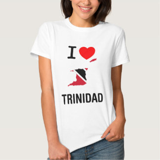 I LOVE TRINIDAD & TOBAGO TSHIRT