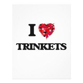 I love Trinkets 21.5 Cm X 28 Cm Flyer