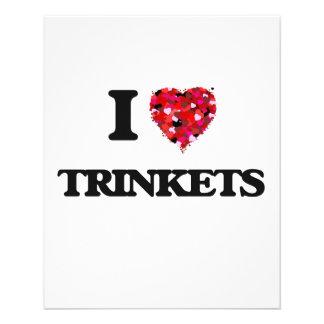 I love Trinkets 11.5 Cm X 14 Cm Flyer