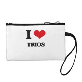 I love Trios Coin Purse