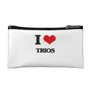 I love Trios Makeup Bag