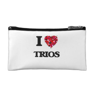 I love Trios Cosmetics Bags