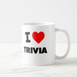 I love Trivia Basic White Mug