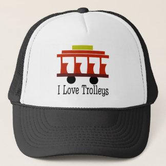 I Love Trolleys Trucker Hat