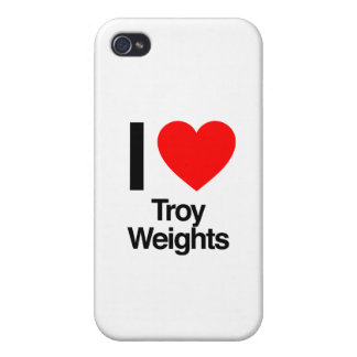 i love troy weights iPhone 4/4S cases
