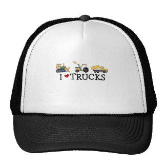 I Love Trucks Cap