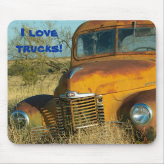 I love trucks! mouse pad