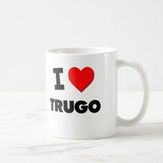 I Love Trugo Basic White Mug