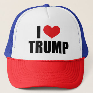 I Love Trump Trucker Cap