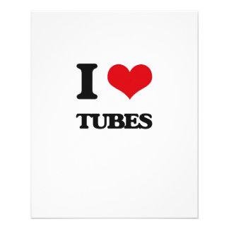 I love Tubes 11.5 Cm X 14 Cm Flyer