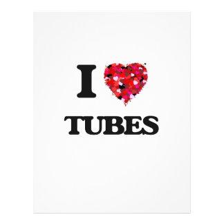 I love Tubes 21.5 Cm X 28 Cm Flyer