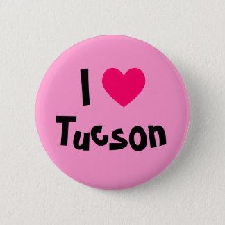 I Love Tucson 6 Cm Round Badge