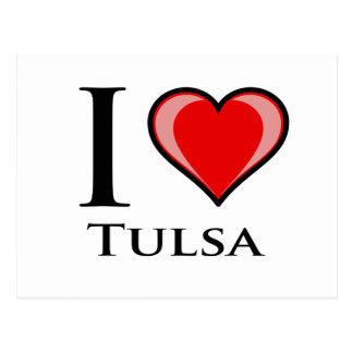 I Love Tulsa Postcard