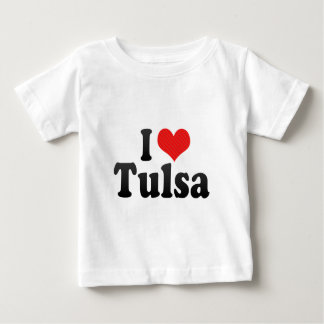 I Love Tulsa T Shirt