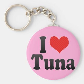 I Love Tuna Key Ring