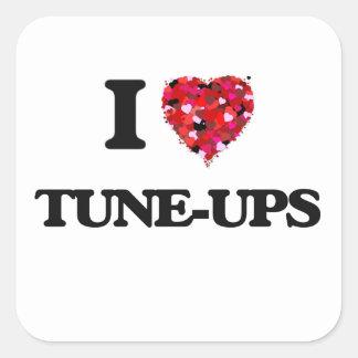 I love Tune-Ups Square Sticker