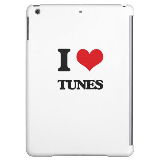 I love Tunes iPad Air Cover
