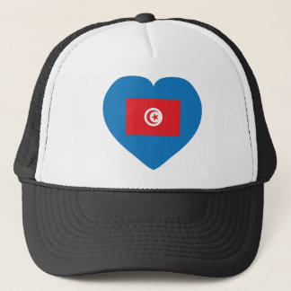 I Love Tunisia Trucker Hat