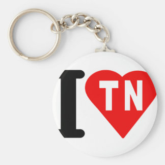 i_love_Tunus.png Key Ring
