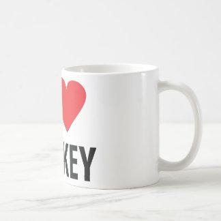 I love turkey basic white mug