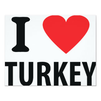 I love turkey card