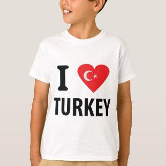 I love turkey icon shirt