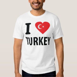 I love turkey icon shirts