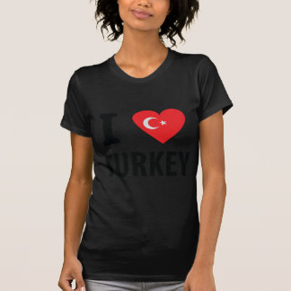 I love turkey icon t-shirt