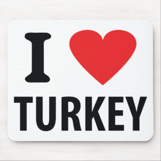 I love turkey mousepad