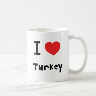 I love Turkey mug