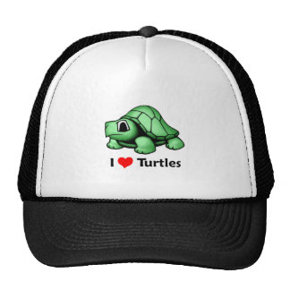 I love Turtles Cap