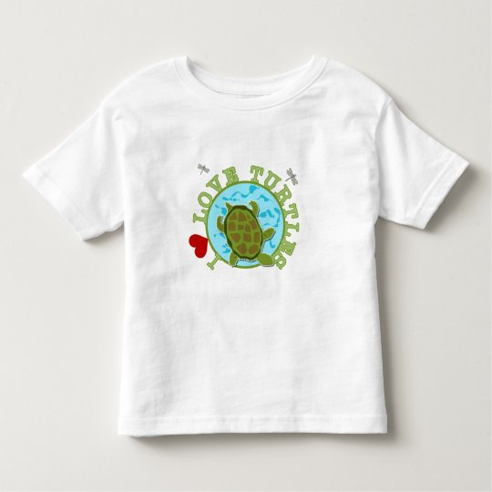 I Love Turtles Toddler T-Shirt