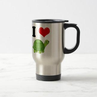 I Love Turtles Travel Mug