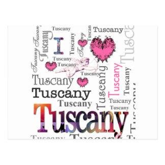I love Tuscany Postcard