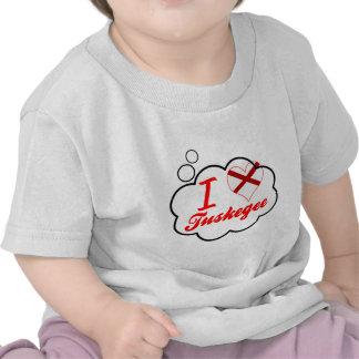 I Love Tuskegee Alabama Shirts