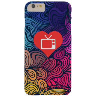I Love Tv Antennae Modern Barely There iPhone 6 Plus Case