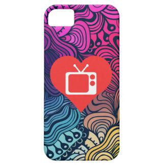 I Love Tv Antennae Modern iPhone 5 Cases