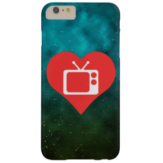 I Love Tv Antennas Modern Barely There iPhone 6 Plus Case