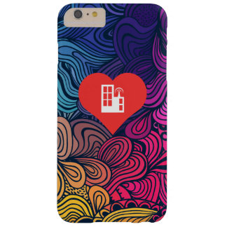 I Love Tv Stations Design Barely There iPhone 6 Plus Case