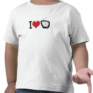 I Love TV T-shirts