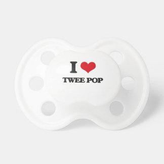 I Love TWEE POP BooginHead Pacifier