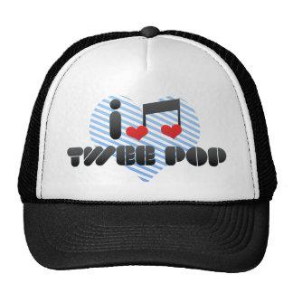 I Love Twee Pop Mesh Hats