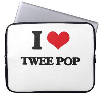 I Love TWEE POP Laptop Computer Sleeves