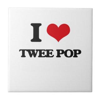 I Love TWEE POP Tile